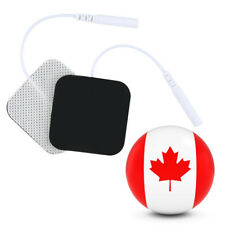 Canadian Non-wove Electrode Pads EMS for Tens Massager Pain Relief LOT OF 4