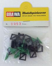 Brawa 9053 Diagonalplatten mit Halterung für Brawa Mosaik-Gleisbild-Stellwerk