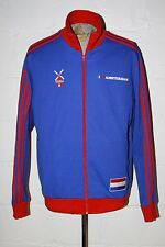 EUC Adidas Originals Amsterdam Holland Blue Red Full Zip Track Jacket Sz XL NICE