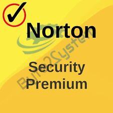 Norton Security Premium 10 MD (PC,MAC,Android,IOS) - ESD - 2020 - Licenza NUOVA