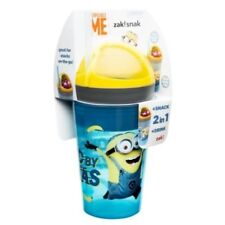 Despicable Me Zak Snak ~ 10 oz Cup & 4 oz Snack Cup ~ Minions Powered By Bananas