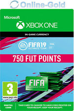750 FUT Points FIFA 19 - Xbox One - 750 FUT FIFA Ultimate Team - FIFA FUT Points
