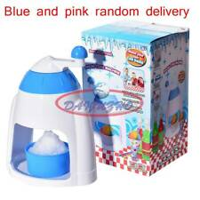 Ice Shaver Machine Snow Cone Maker Shaving Crusher Drink Slushy Maker  New