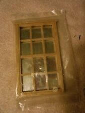 1:12 scale Houseworks tapered shingles and mirror back window