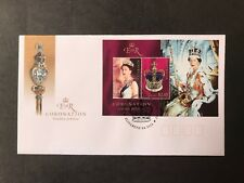 AUSTRALIA 2003 CORONATION GOLDEN JUBILEE MINI SHEET FIRST DAY COVER