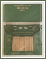 Vintage Hotpoint Home Laundry Equipment Clothesline With Clips - RARE!