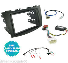 CTKSZ02 Stereo Double Din Radio Replacement Fitting Kit For Suzuki Swift (2011>)