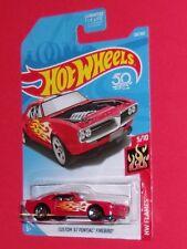2018 Hot Wheels CUSTOM '67 PONTIAC FIREBIRD #128 HW Flames  FJW64-D9C0G G case
