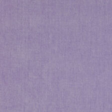 Manuel Canovas Solid Lavender Chenille Upholstery Fabric- Tivoli / Mauve 7.15 yd