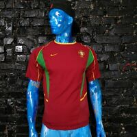 Portugal Team Jersey Home football shirt 2002 - 2004 Nike Camiseta Mens Size S