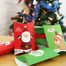 Xmas Party Home Decor Paper Candy Boxes Kraft Gift Bag Christmas Pillow Shape