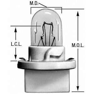 Instrument Panel Light Bulb Wagner Lighting PC168
