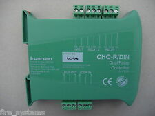 £28.80 Hochiki Din Rail Dual Relay CHQ-R/DIN