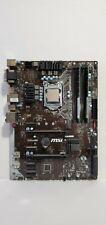 MSI Z170-A Pro ATX Motherboard Intel LGA 1151 - i3-6300 CPU - 18GB DDR4 2133mhz