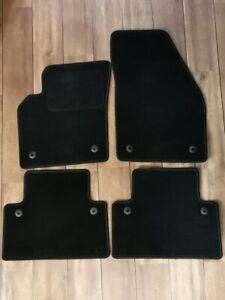 Fußmatten Volvo S40/ V50 ab Modelljahr 2004 schwarz Passformgenau gute Qualität