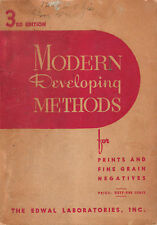 MODERN DEVELOPING METHODS FOR PRINTS AND FINE GRAIN NEGATIVES EDWAL LABORATORIES