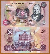 Scotland, 20 pounds, 1991 , P-118, UNC > Rare