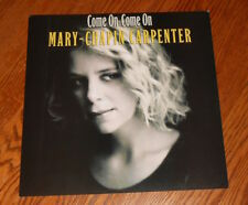 Mary-Chapin Carpenter Come On Come On Poster 2-Sided Flat 1992 Promo 12x12