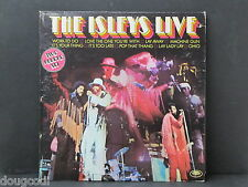 The Isley Brothers Live 1973 Bitter End Concert 33 RPM 2 Record Set RARE DJ Copy
