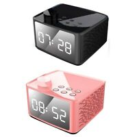 Alarm Clock Radio Wireless Bluetooth Speaker With Fm Radio & Cell Phone Stan 6B5