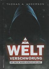 WELTVERSCHWÖRUNG - Thomas A. Anderson & Jan van Helsing BUCH - NEU
