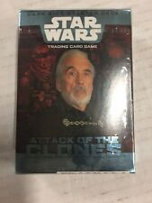 STAR WARS Attack Of The Clones Dark Side 40-card CCG Factory Sealed Look