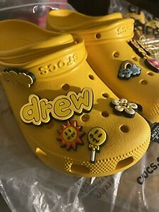 BRAND NEW Justin Bieber Drew House Crocs SZ 11M/ 13W