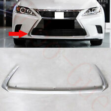 1xFor Lexus CT200h 2014-2017 Car Silvery ABS Front Bumper Lower Frame Cover Trim