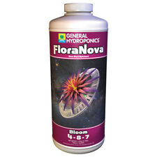 General Hydroponics FloraNova Bloom 1 Quart qt 32oz - gh flora nova nutrient