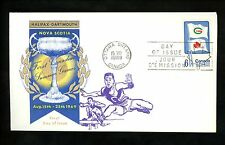 Postal History Canada Scott #500 Overseas Mailer FDC Sports Games 1969 ON