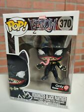 Funko Pop! Marvel Venom Venomized Black Panther #370 Gamestop MINT W/ PROTECTOR!
