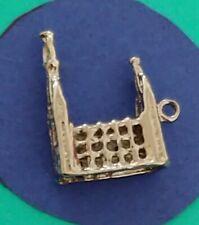Charm U62 Church Sterling Silver Vintage Bracelet