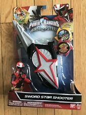 Power Rangers Ninja Steel Sword Star Shooter With Ninja Stars Saban's Bandai