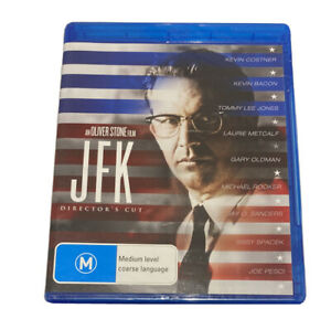 JFK BluRay Region B  Kevin Costner Tommy Lee Jones New And Sealed