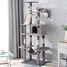 Mehrstufige Katzenbaum Aktivität-Turm Barsch Hängematte Beiträge Haustier Haus