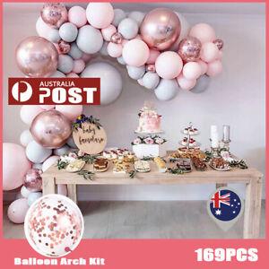 169Pcs Balloon Arch Garland Kit Set Birthday Wedding Baby Shower DIY Decor Party