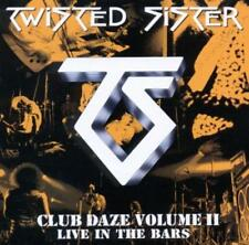 Twisted Sister - Club Daze Volume II - Live In The Bars (CD) NEW/Sealed !!!