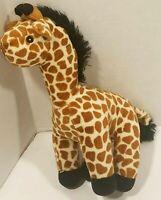 Giraffe Stuffed Animal Plush Tan Brown Black