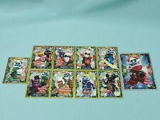 Lego Ninjago Serie 5 Trading Card 10 x Limitierte Auflage LE1 LE5-LE8 LE24-LE27