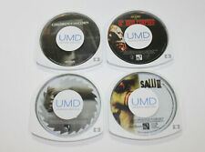 Sony PSP UMD Horror Lot /Children of the Corn /House of 1000 Corpses /Saw /Saw 2