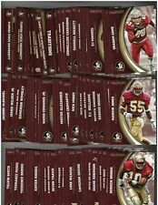 2015 Panini Florida State Collegiate Collection Complete 80 Card Set   - NM-MT