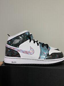 Nike Air Jordan 1 Mid SE (GS) 'Take Flight' BQ6931-114 Size 6.5Y / 8 Women's