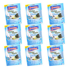 9 xMICROFIBRE CLOTH WINDOW GLASS CAR MIRROR CLEANING LINT FREE TV LAPTOP SCREEN