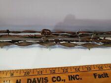 Vintage Set of Barbed Wire