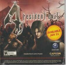 Resident Evil 4 PROMO w/ Artwork MUSIC AUDIO CD Apocalypse Slipknot Manson Cure