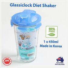 Glasslock Glass Diet Beverage Shaker 450ml Glass Mixer Blender Shaker *BPA FREE