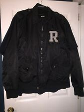 1999 Rocawear Ma-1 Bomber Jacket Coat Mens 2XL XXL