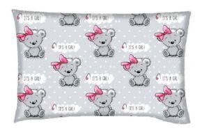 Infant Baby Toddler Anti Allergy Flat  Soft Pillow for Crib Pram Car Seat Teddy