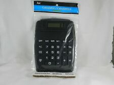 H1- (3Pack) 8-Digit Easy to Read Black Desktop Calculators, 7.5x5.75 in.