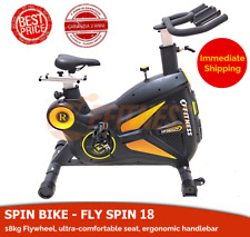 18kg Flywheel Spin Sport Bike Home Gym Exercise Fitness Cardio Indoor Aerobic